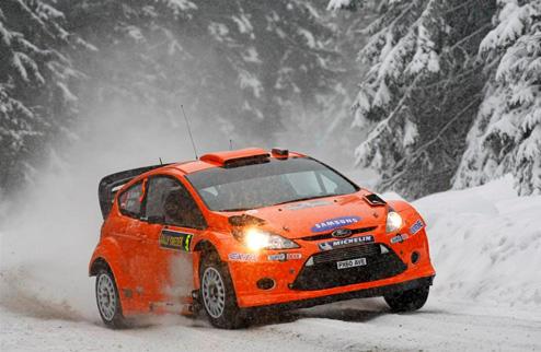 P-WRC. Ралли Швеции. День 2-й. Два украинца в тройке!