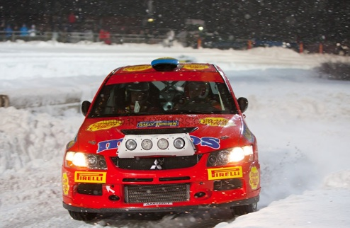 P-WRC. Mentos Ascania Racing ������ ������������� ���� ������������