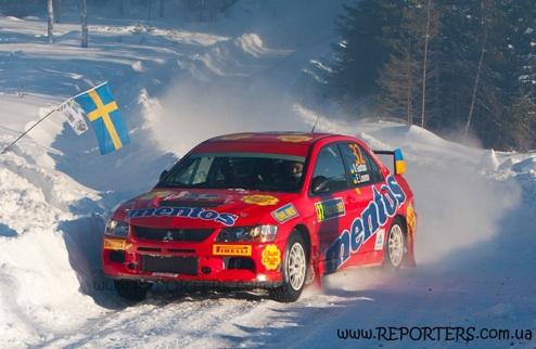 P-WRC. Mentos Ascania Racing на финише Ралли Швеции