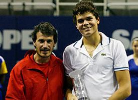 Раонич о своем триумфе на турнире в Сан-Хосе
