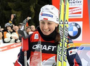 Лыжные гонки. Ковальчик довольна серебром