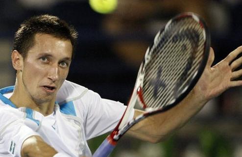 Стаховский сыграет против Федерера в четвертьфинале турнира в Дубаи