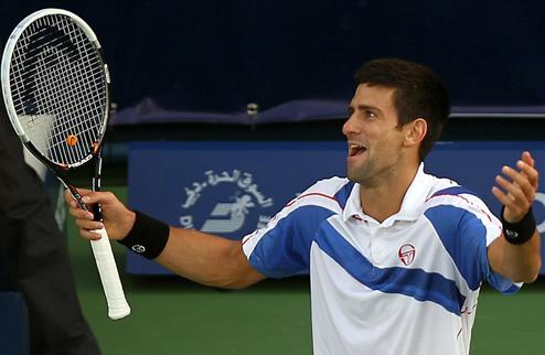 Джокович выиграл турнир в Дубаи