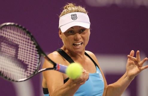 Звонарева завоевала титул в Дохе