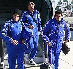 Динамо передислоцировалось в Турцию