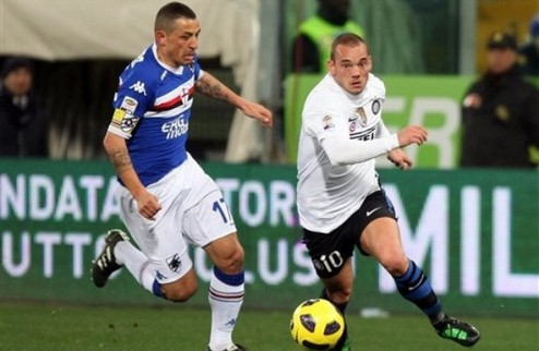 Интер сокращает отрыв от Милана + ВИДЕО