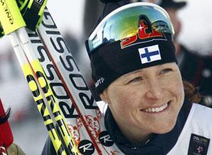 """Лыжные гонки. Сааринен: """"Выходила на старт, чтоб выиграть"""""""
