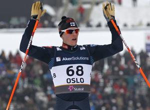 """Лыжные гонки. Хейккинен: """"Медаль много значит для финнов"""""""