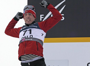 """Лыжные гонки. Реннинг: """"У меня было хорошее предчувствие"""""""