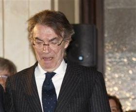 """Моратти: """"Надеюсь, Милан потеряет очки"""""""