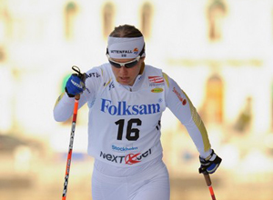 """Лыжные гонки. Ингемарсдоттер: """"Выигрывать в Норвегии всегда приятно"""""""