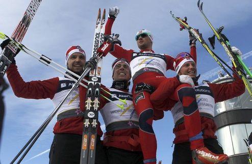 Нортуг приносит Норвегии эстафетную победу