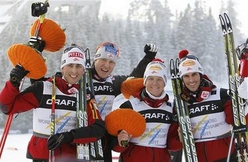 Штехер вновь принес Австрии командное золото