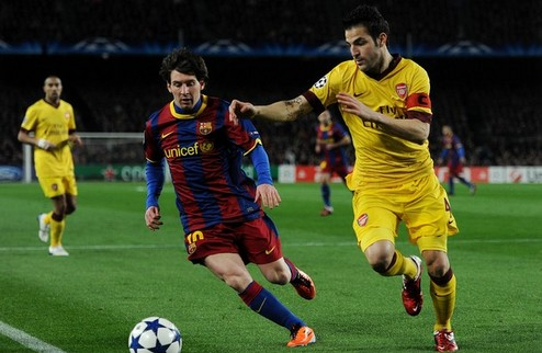 Барселона разрушает мечты Арсенала