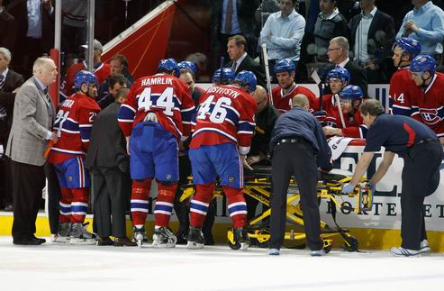 "НХЛ. Бэттмен: ""Травмы — часть хоккея"""