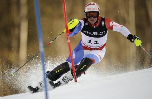 Горные лыжи. Первая победа Бита Фойза