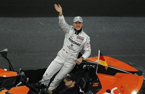 """Шумахер: """"Ни разу не пожалел о решении вернуться"""""""