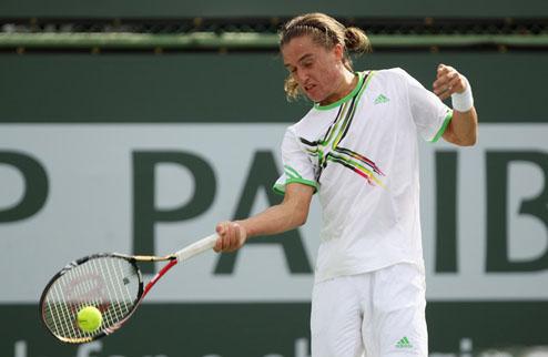 Долгополов пробился в полуфинал парного разряда в Индиан-Уэллсе