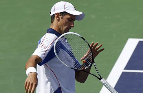 Джокович выходит в полуфинал в Индиан-Уэллсе