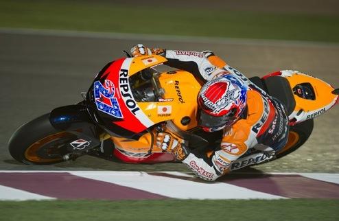 MotoGP. Гран-при Катара. Стоунер на поуле