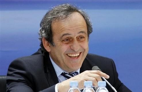 Платини — президент УЕФА еще на четыре года