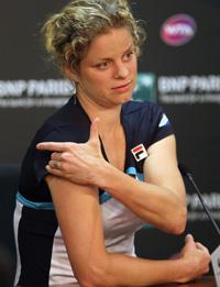 """Клийстерс: """"Теннис – это всего лишь спорт"""""""