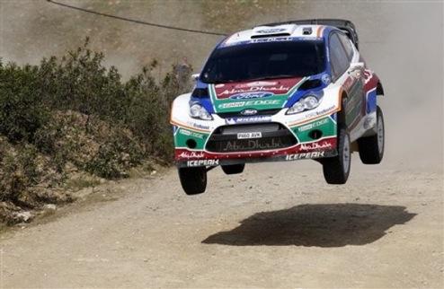 WRC. Ралли Португалии. Тактическая битва в первый день