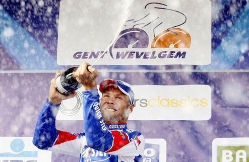 Бонен выиграл домашнюю велогонку Мирового тура