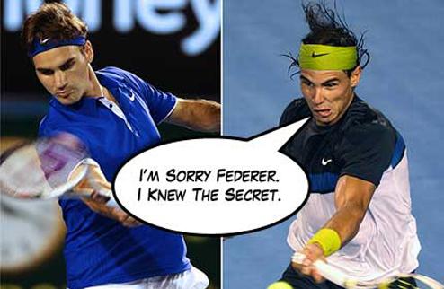 Надаль и Федерер добрались наконец-то друг до друга