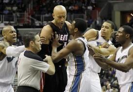 Вашингтон — Майами: провинившиеся игроки получили наказание