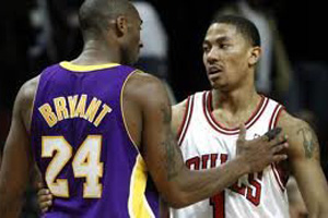 НБА. Роуз и Брайант – лучшие игроки марта