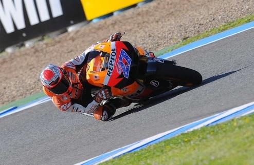 MotoGP. Гран-при Испании. Стоунер опять на поуле