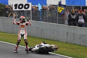 """MotoGP. Симончелли: """"Могу бороться с лучшими гонщиками"""""""