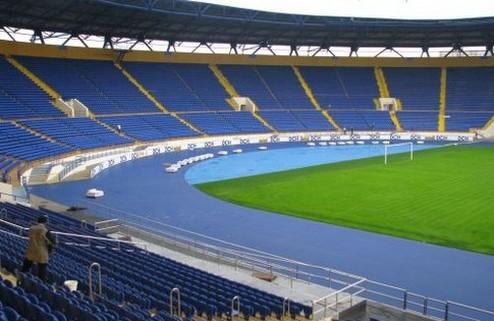 Реконструкция поля на стадионе Металлист займет три месяца