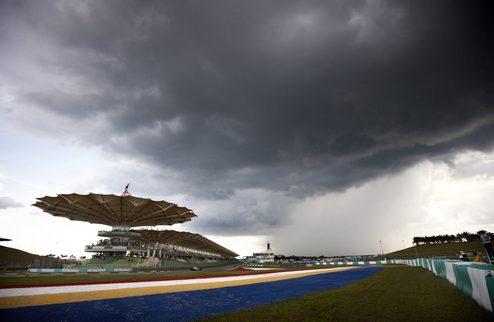 Дождь может преподнести сюрприз на Гран-при Малайзии