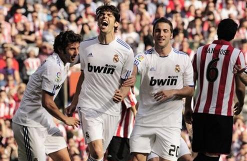 Реал крупно выигрывает в Бильбао + ВИДЕО