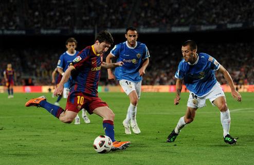 Барселона берет верх над Альмерией + ВИДЕО