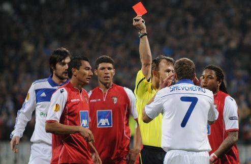 УЕФА рассмотрит инцидент с участием Парамона