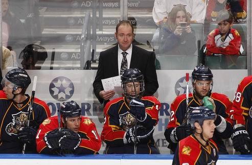 НХЛ. Уволен тренер Флориды