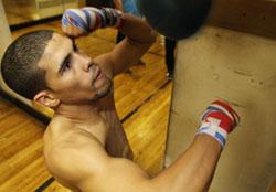 Тренировка Хуанмы Лопеса. ВИДЕО