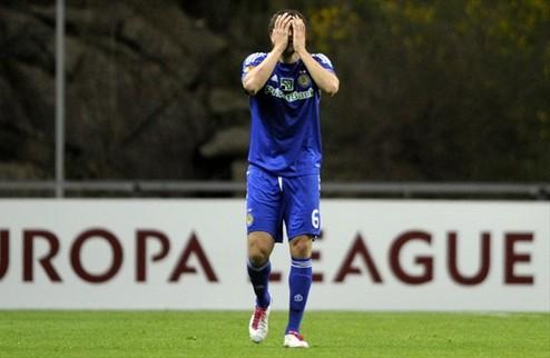 Динамо бесславно завершает еврокубковый сезон