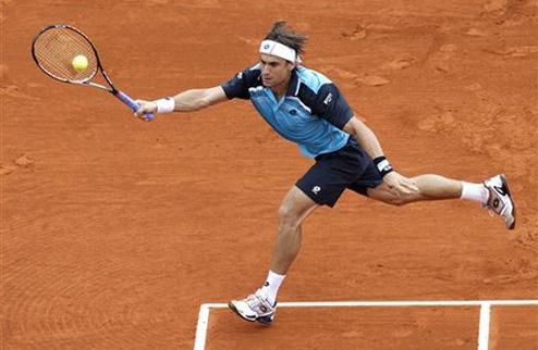 Феррер стал первым полуфиналистом в Монте-Карло