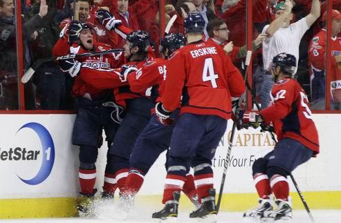 НХЛ. Вторая победа Вашингтона
