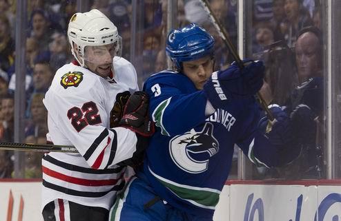 НХЛ. Ванкувер не без труда обыграл Чикаго