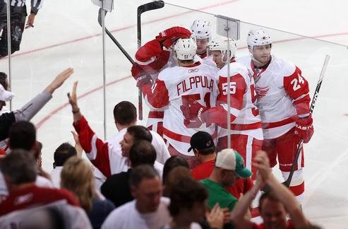 НХЛ. Детройт продолжает побеждать