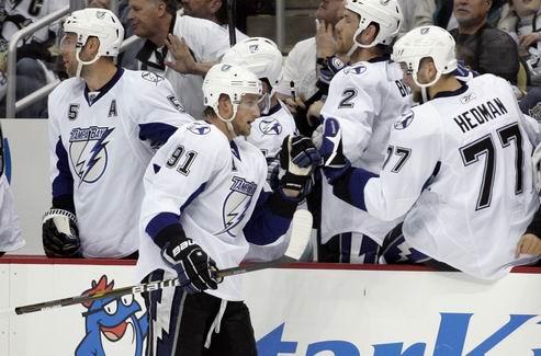 НХЛ. Тампа-Бэй унижает Питтсбург и возвращается в игру