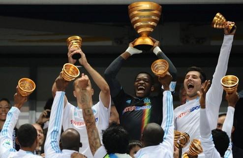 Марсель выигрывает Кубок Лиги