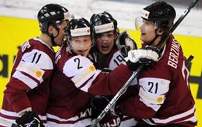 Латвия назвала состав на чемпионат мира