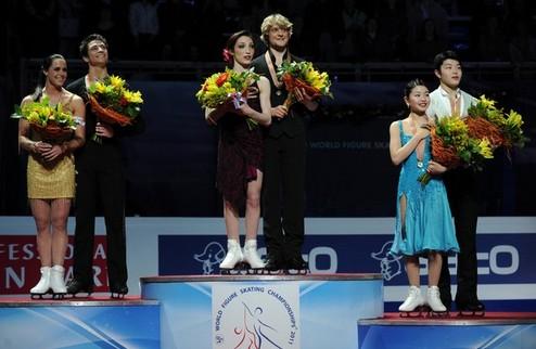 Фигурное катание. ЧМ. Япония и Канада — лидеры соревнований