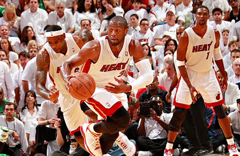 НБА. Майами берет верх в первой игре